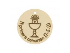 ABALORIO COMUNION EN ORO
