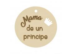 ABALORIO MAMA DE UNA PRINCIPE EN ORO