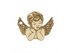 ABALORIO ANGEL EN ORO