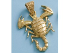 COLGANTE ESCORPION EN ORO